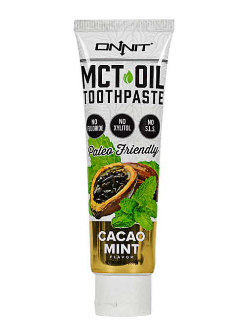 MCT Oil Toothpaste